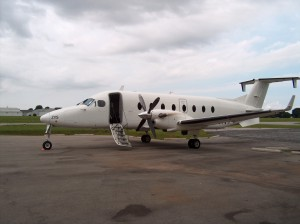 CemAir Beechcraft 1900D. CemAir leases aircraft and operates an airline