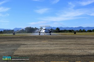 CemAir Beechcraft 1900D first arrival and welcome to Plettenberg Bay