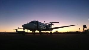 CemAir Beechcraft 1900D at Plettenberg Bay