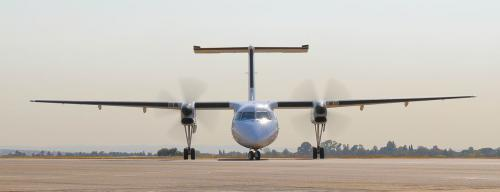 CemAir Dash 8 Q300. CemAir leases aircraft and operates an airline